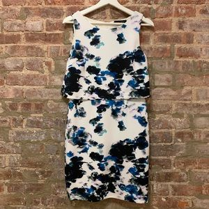 Ivanka Trump Floral Print Dress